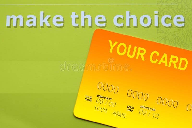 Download Karciany kredyt ilustracji. Obraz złożonej z overdraft - 8339695
