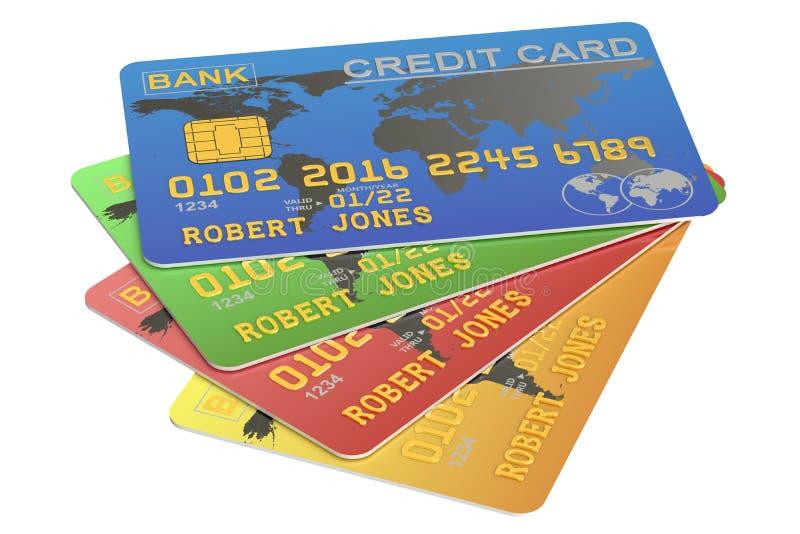 karciany kredyt s ilustracji