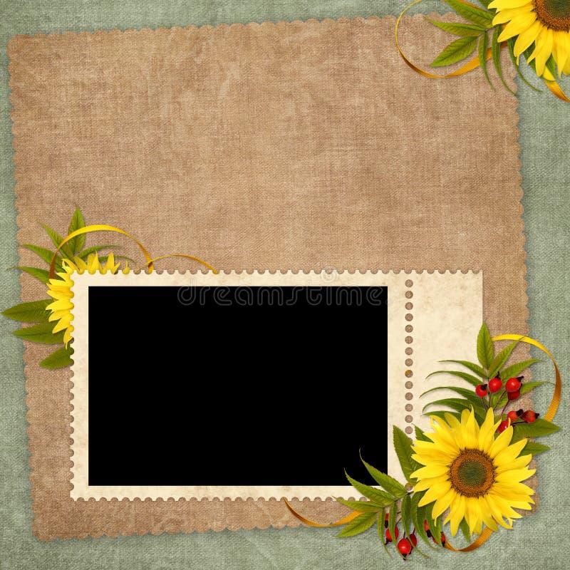 Download Karciany Kwiatu Wakacje Rocznik Ilustracji - Ilustracja złożonej z antyk, urodziny: 13329841