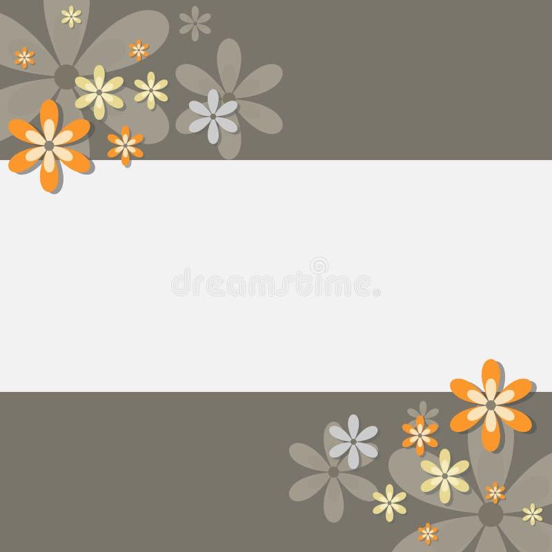 karciany kwiecisty ilustracja wektor