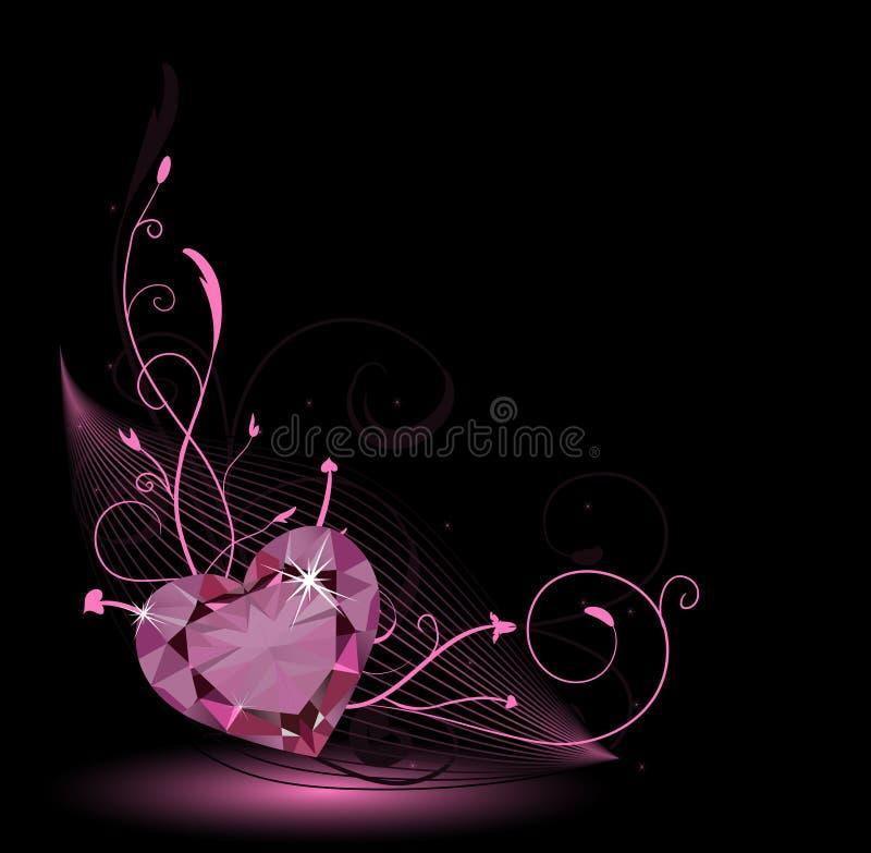 karciany valentine royalty ilustracja