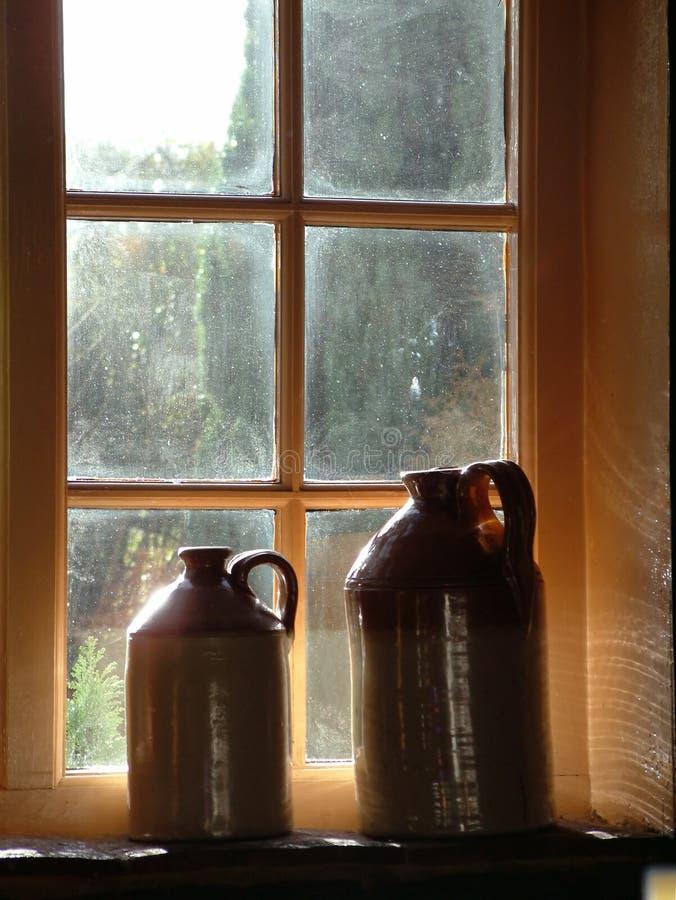 karczemny okno zdjęcie royalty free