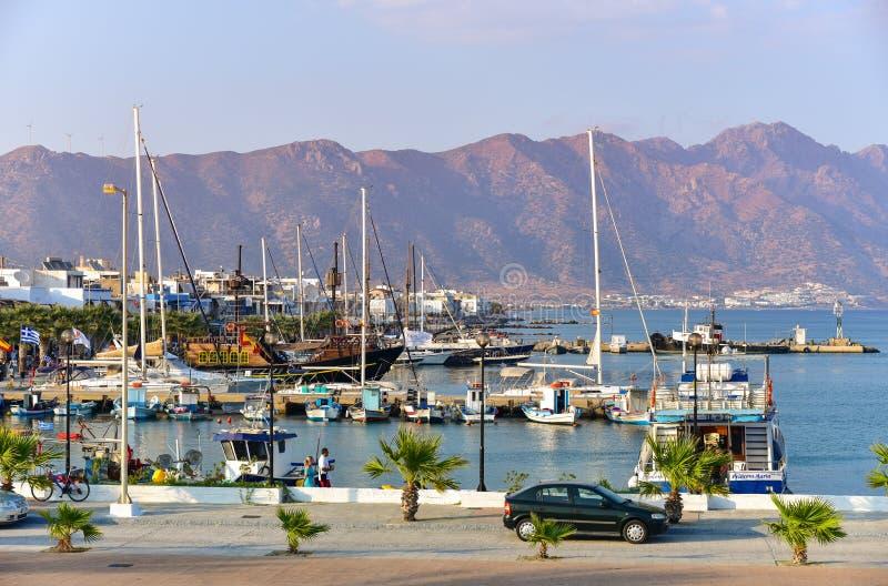 Kardamaina口岸Kos海岛希腊 库存照片