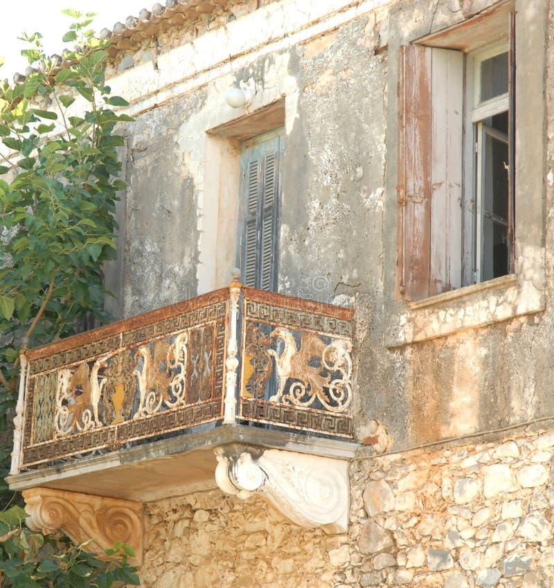 Kardamili Griekenland royalty-vrije stock afbeeldingen