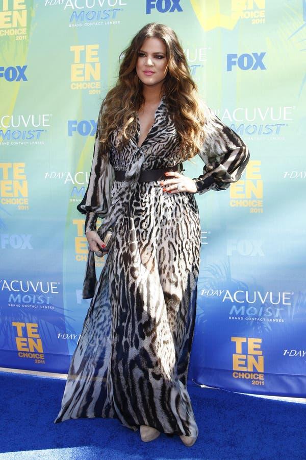 kardashian khloe στοκ φωτογραφία με δικαίωμα ελεύθερης χρήσης
