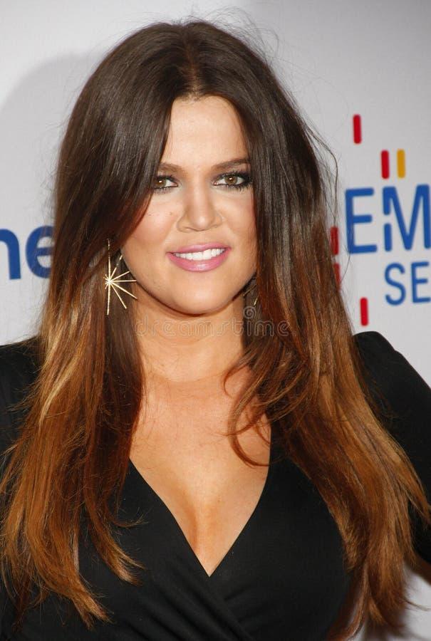 kardashian khloe στοκ φωτογραφία