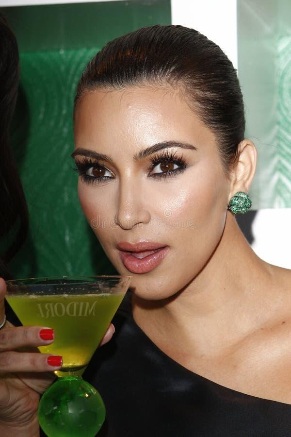 kardashian kim стоковое изображение