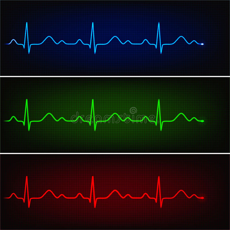 Kardiogram ilustracji