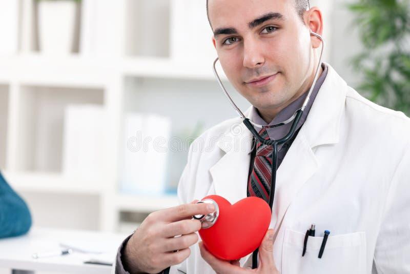 Kardiolog royaltyfri bild