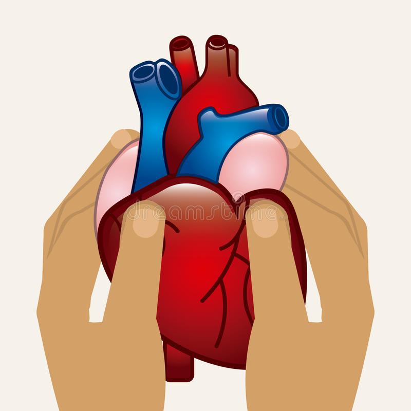 kardiologia royalty ilustracja
