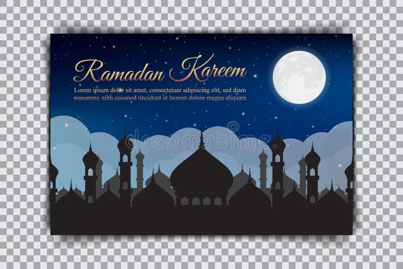 kareem Ramadan Projekt wakacyjna karta na przejrzystym tle ilustracji