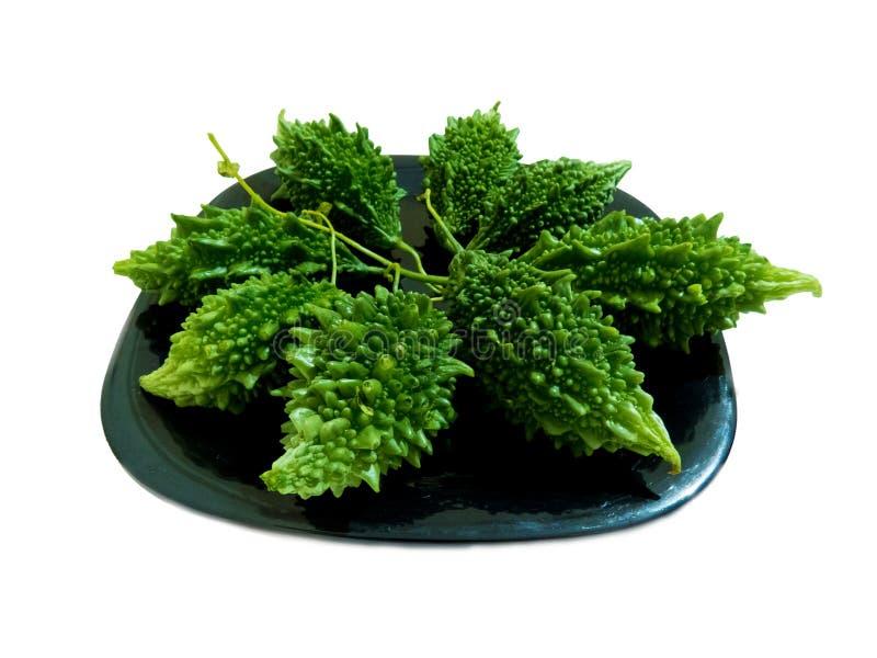 Karela ein indisches Gemüse stockbilder