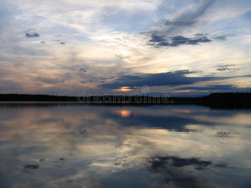 Karelia fotografía de archivo libre de regalías