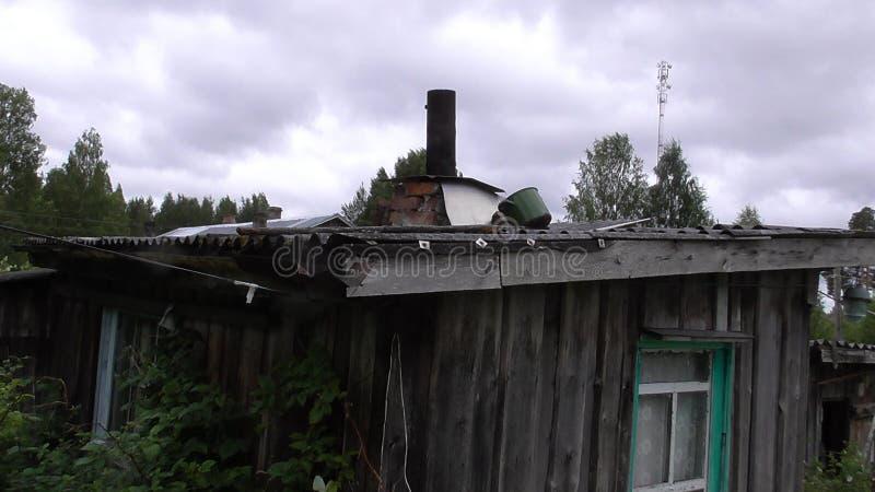 Karelia - hus arkivbild