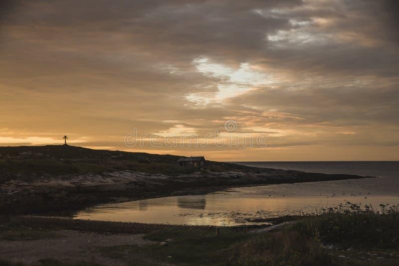 Karelia& x27 ; soleil de s images libres de droits