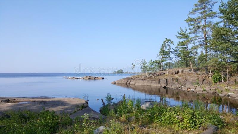 Karelische Kusten stock afbeelding