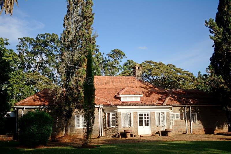 Karen Blixen House, Langata, Kenya image stock