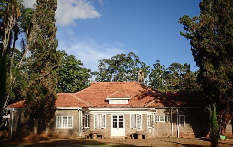 Karen Blixen House, Langata, Kenya photographie stock libre de droits