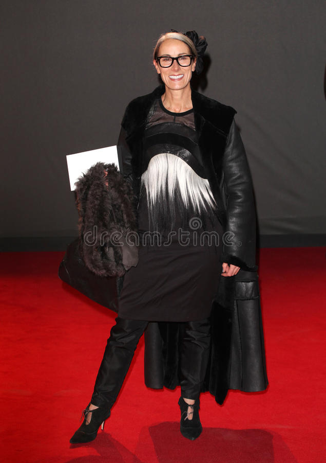 Karen Franklyn. Arriving for the 2013 British Fashion Awards, at The London Coliseum, London. 02/12/2013 Picture by: Alexandra Glen / Featureflash stock images