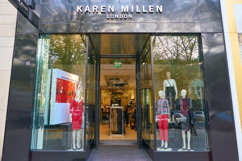 Karen Millen arkivbild