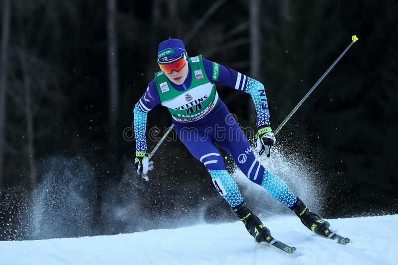 Nordic Ski FIS World Cup - Nordic Combined stock images
