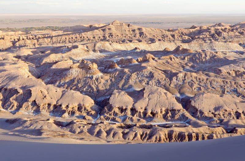 Kari Wąwozu Atacama Pustynia obraz stock