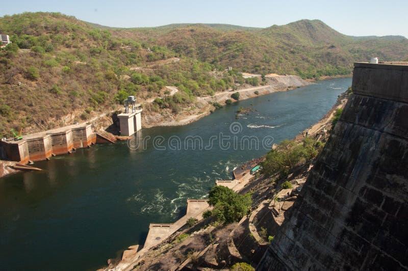 Kariba υδροηλεκτρικό στοκ φωτογραφία με δικαίωμα ελεύθερης χρήσης