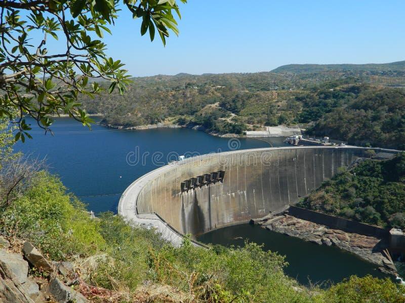 Kariba dam. Beautiful view of the kariba dam zimbabwe stock photo