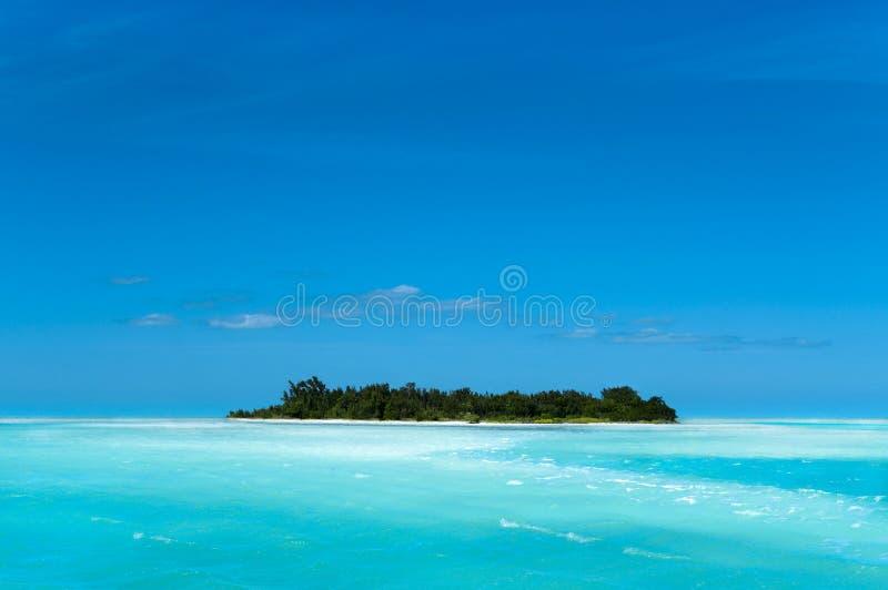 Karibische entferntinsel lizenzfreie stockfotos