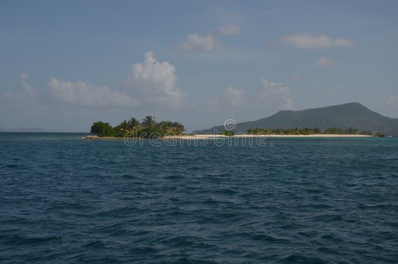 Karibische kleine Insel Tobago Ceys lizenzfreies stockfoto