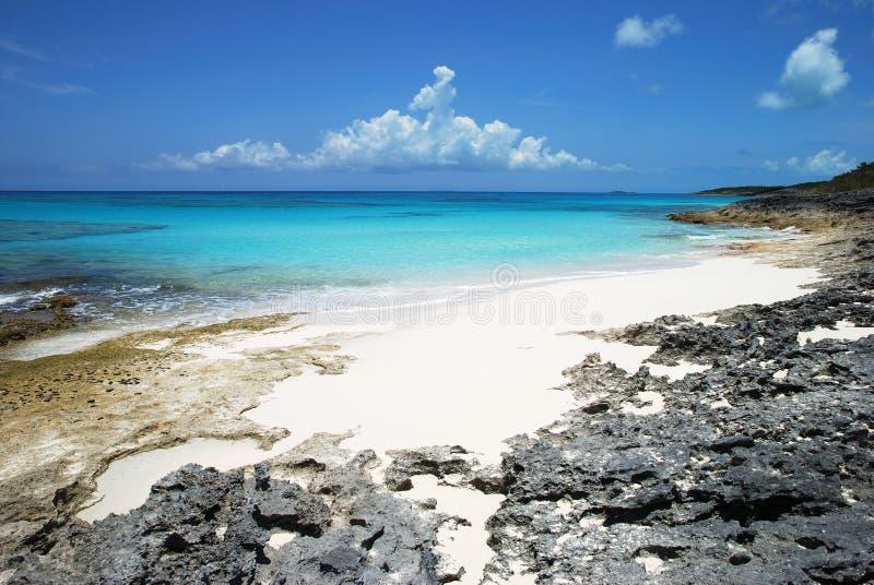 Karibische Landschaft stockfotografie