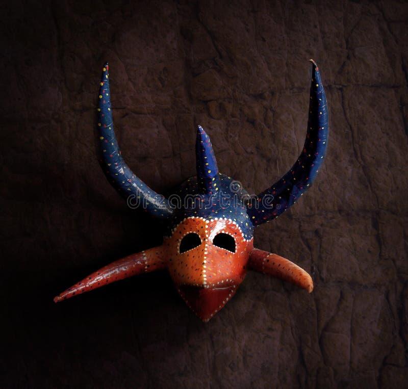 Karibische Maske stockbild