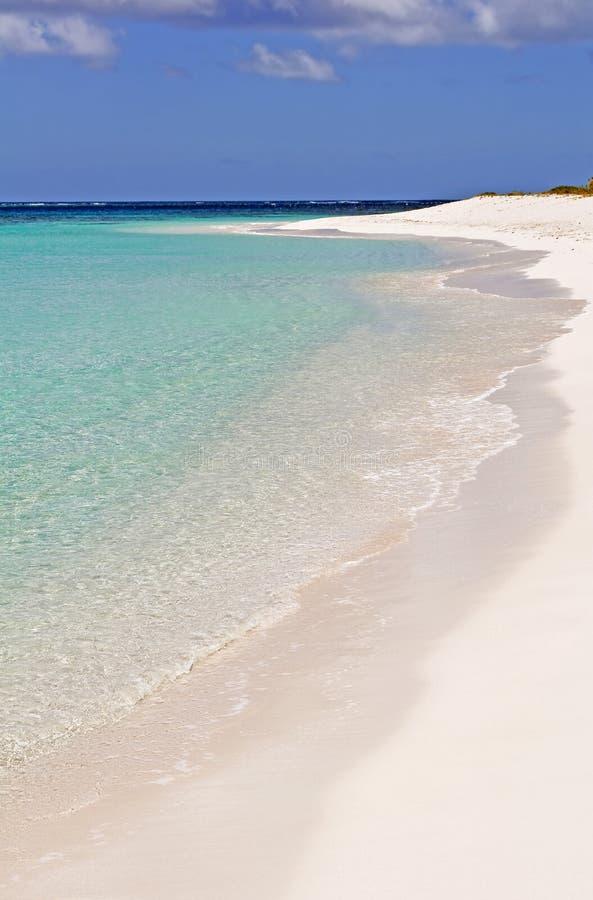 Karibischer Strand. lizenzfreie stockfotos