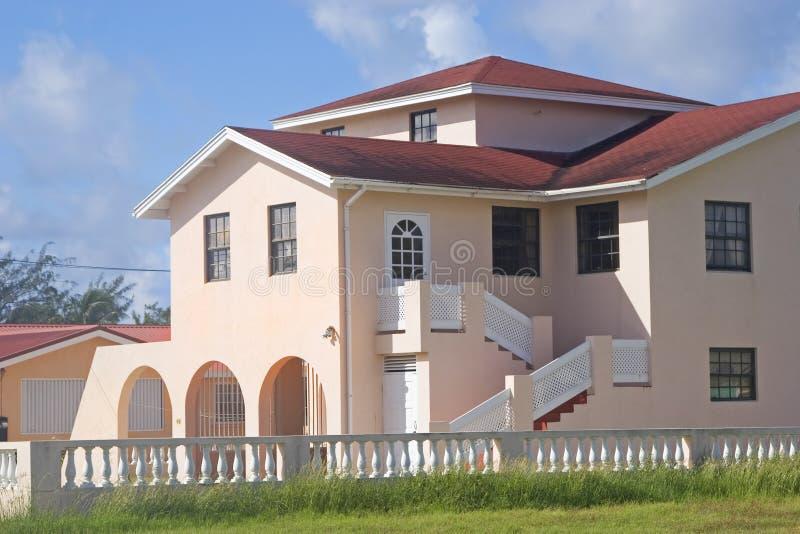 Karibisches Haus lizenzfreie stockfotografie