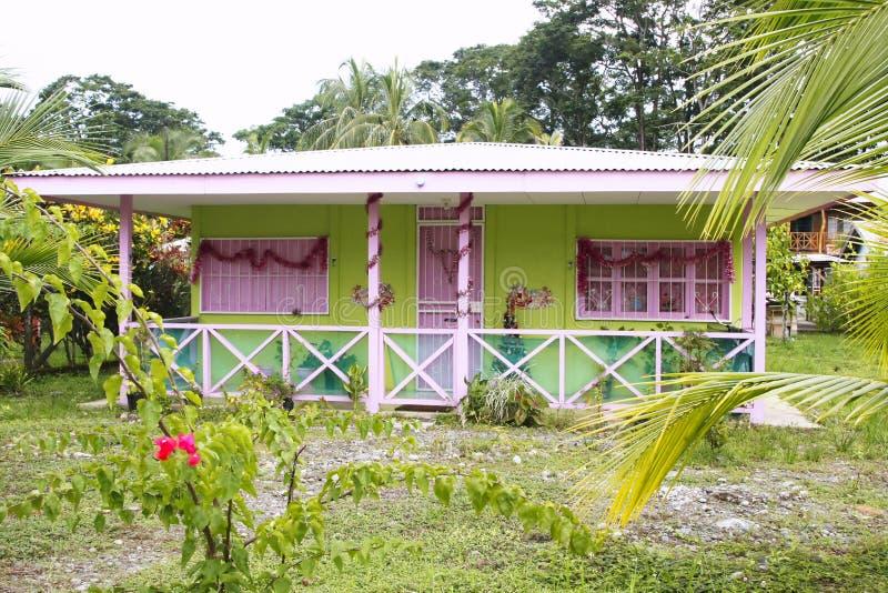 Karibisches Haus stockfotos
