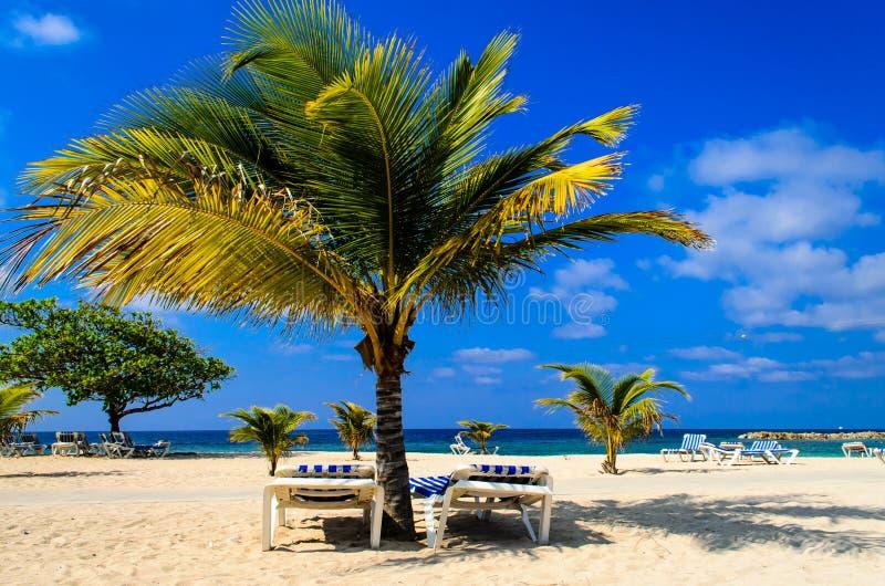Karibisches Paradies lizenzfreie stockfotografie