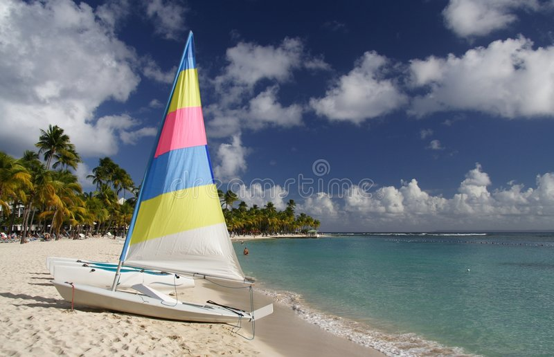 Karibisches Segeln Lizenzfreies Stockfoto