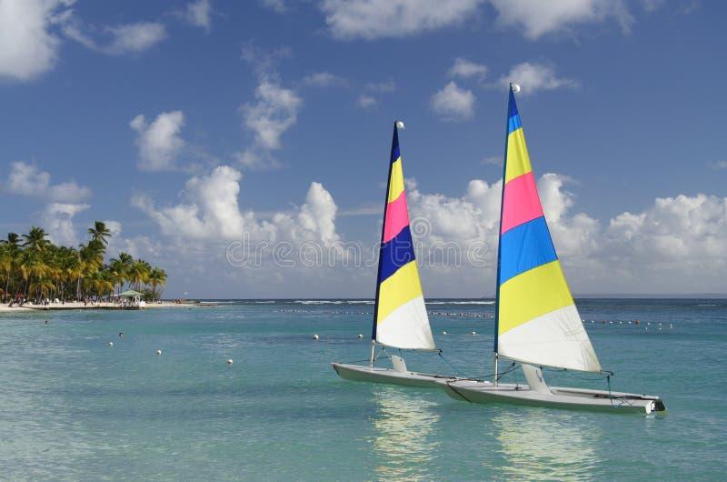 Karibisches Watersports stockbilder