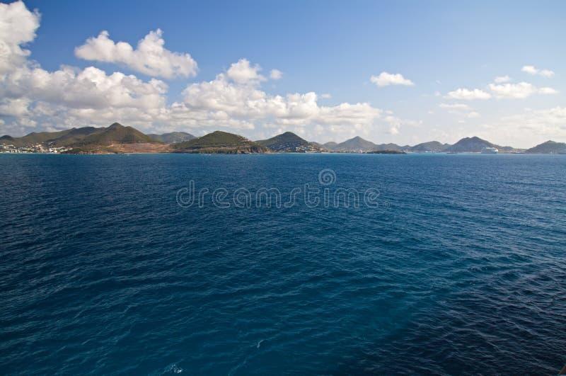 karibisk ömaarten st royaltyfria bilder