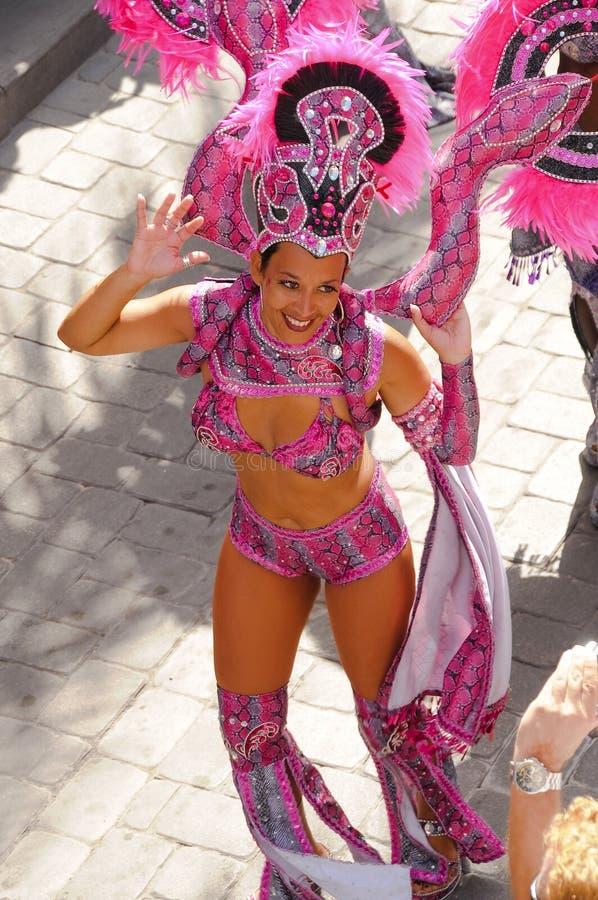 karibisk carnivale 2 royaltyfri foto