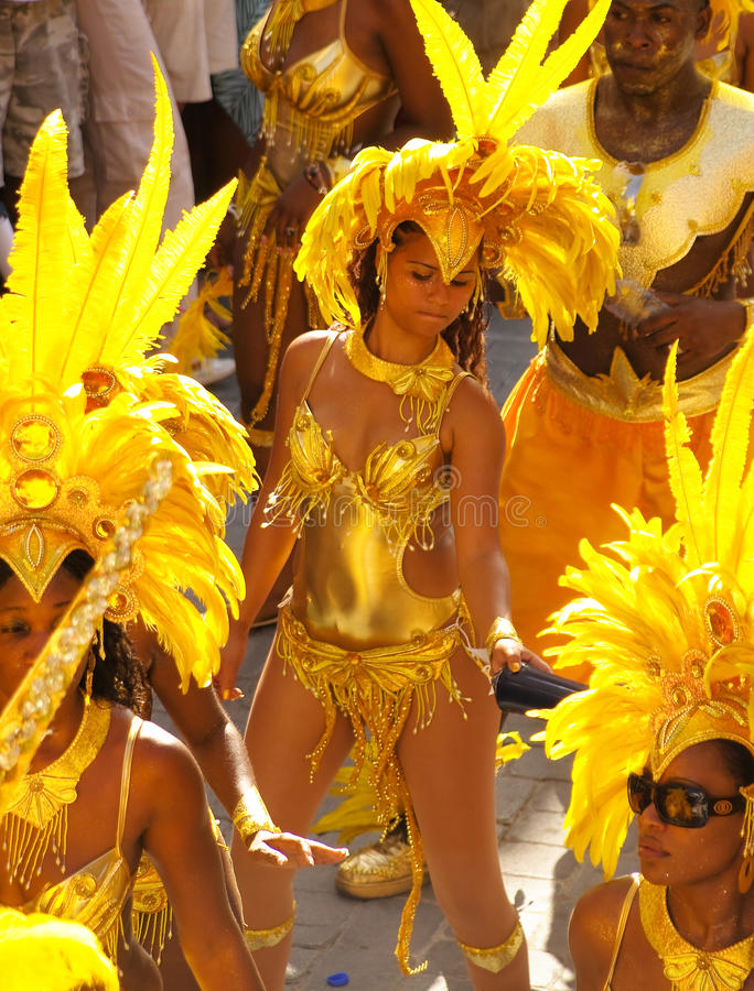 karibisk carnivale 5 royaltyfria foton