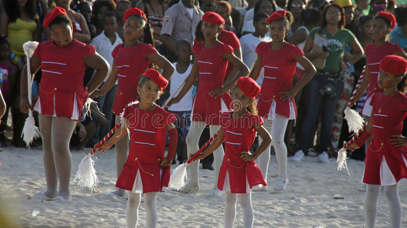 Karibisk karneval royaltyfri foto
