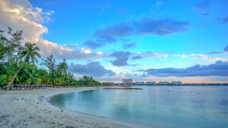 karibisk plats för strand arkivfoton
