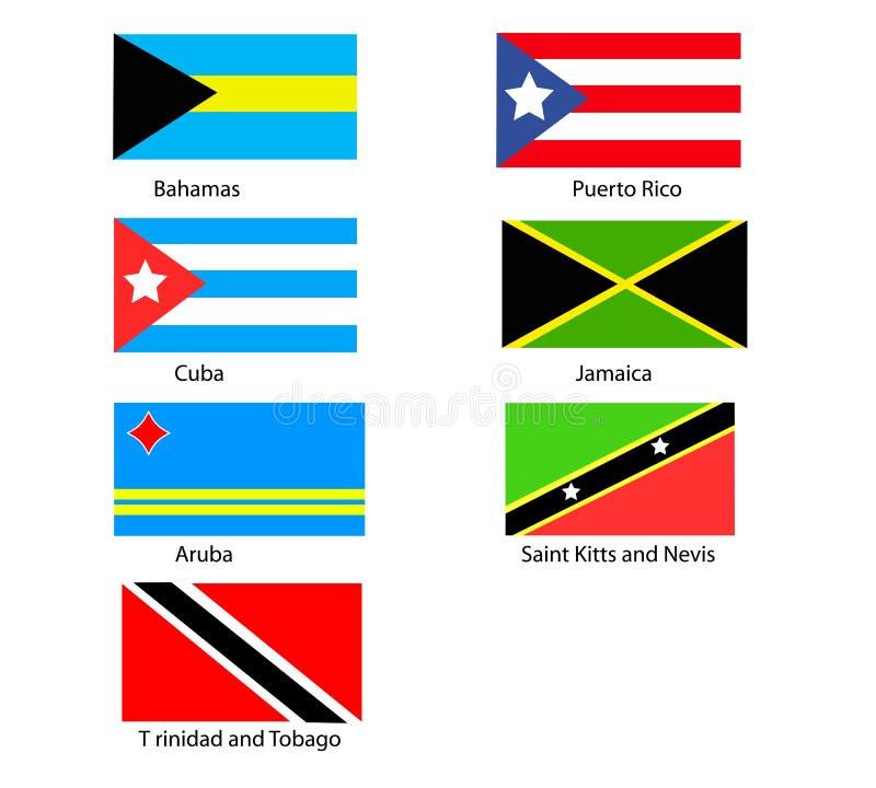 karibiska flaggor