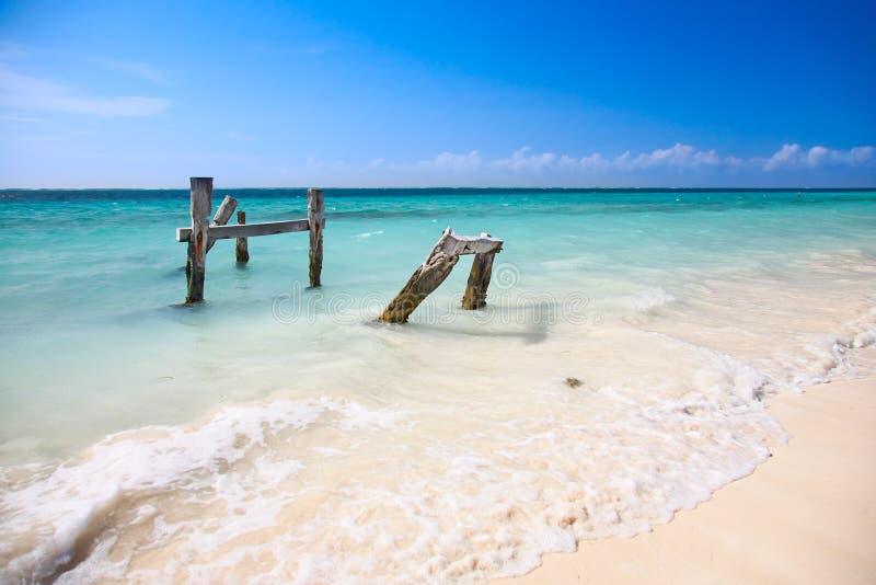 karibiskt hav för strand royaltyfri bild
