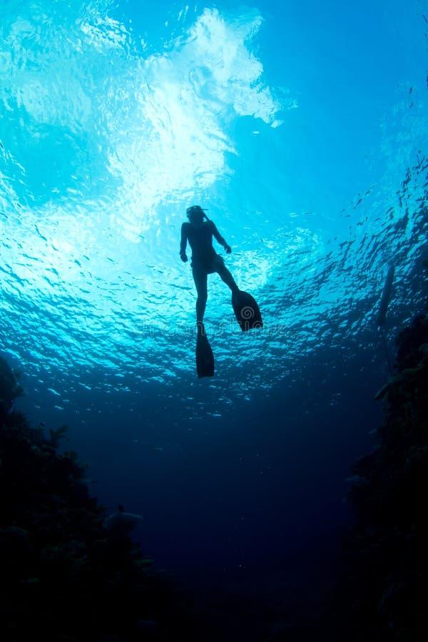 karibiskt vatten royaltyfri fotografi