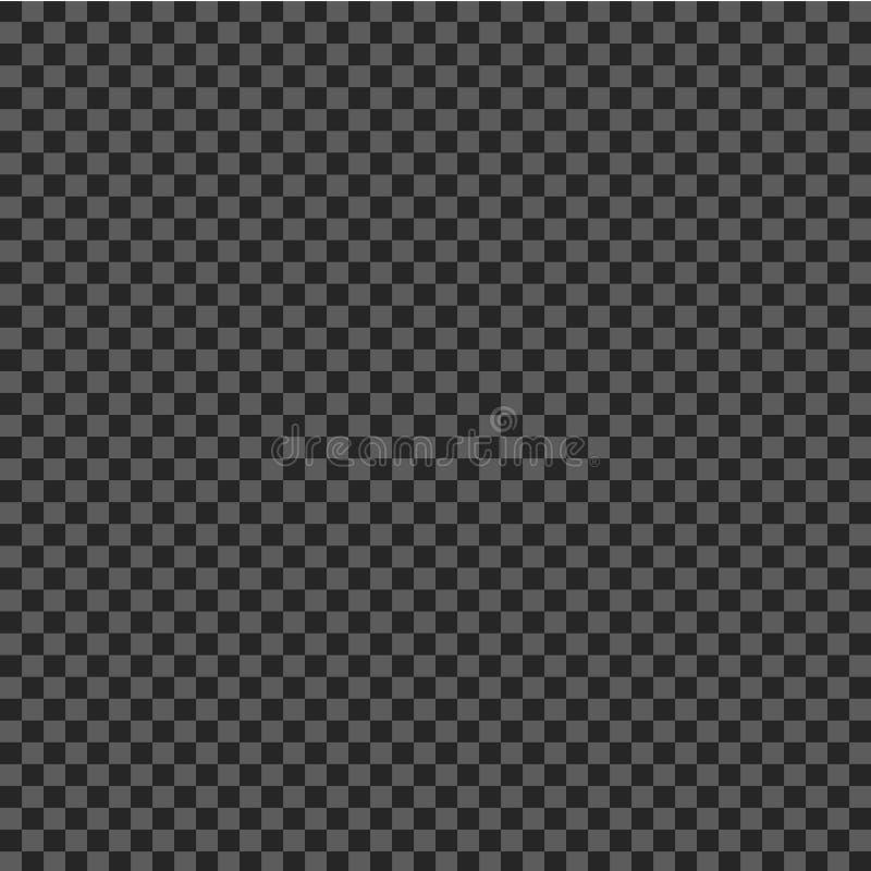 Kariertes geometrisches Muster schwarze und graue Quadrate in einer Schachbrettart Vektor ENV 10 vektor abbildung