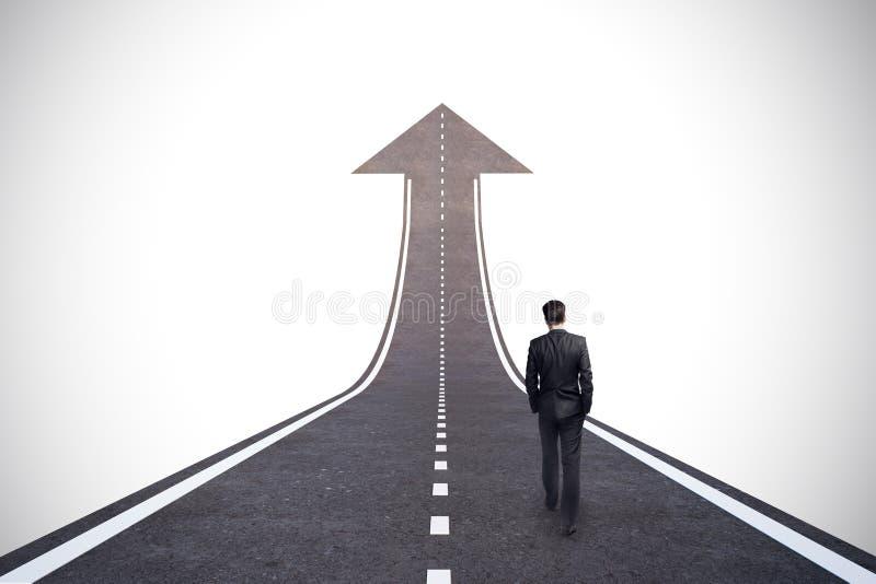 Kariery i przyrosta pojęcie obrazy stock