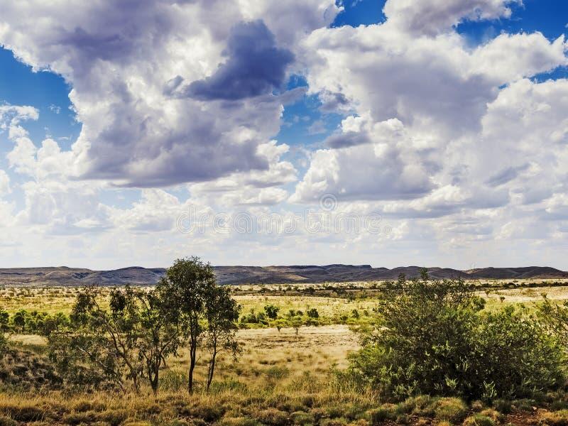 Karijini Australien royaltyfria bilder