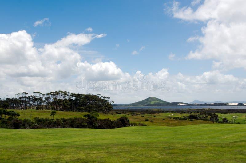 Karikari peninsula northland New Zealand. Landscape view of Karikari peninsula in northland, New Zealand royalty free stock images